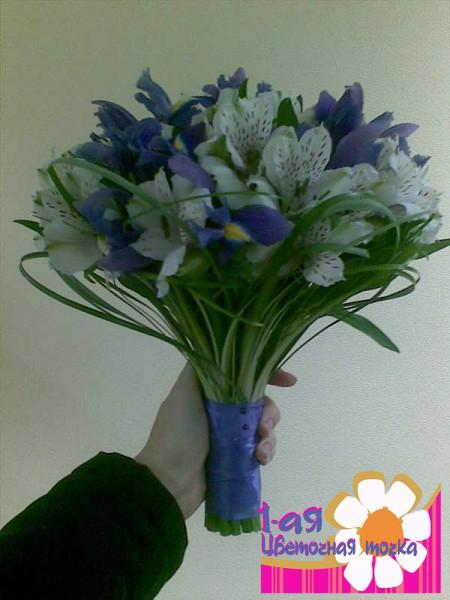 Букет невесты №4 цветочное кружево